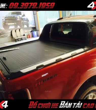 Nắp thùng xe bán tải Ford Ranger màu đen Carry Boy Thái Lan