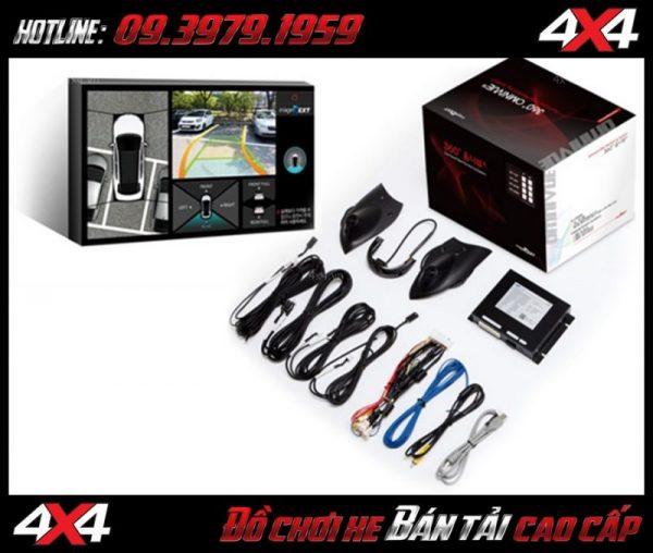 Camera 360 dành cho xe hơi Omnivue Hàn Quốc cao cấp sắc nét