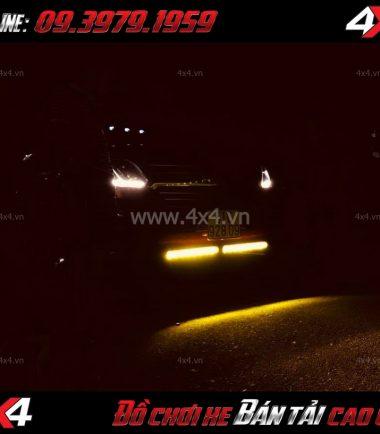 Bức ảnh: Đèn Led Bar phá sương Kenzo cho xe bán tải Ford Ranger 2018