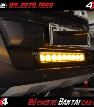 Photo: Đèn Led Bar phá sương Kenzo cho xe bán tải Ford Ranger