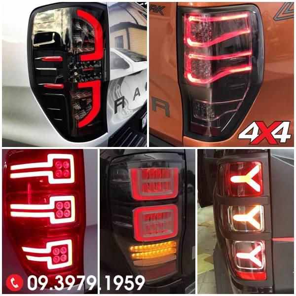 Độ đèn Ford Ranger: Các mẫu đèn hậu độ đẹp cho xe bán tải