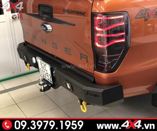 Độ đèn Ford Ranger: Đèn hậu độ kiểu mercedes đẹp và chất