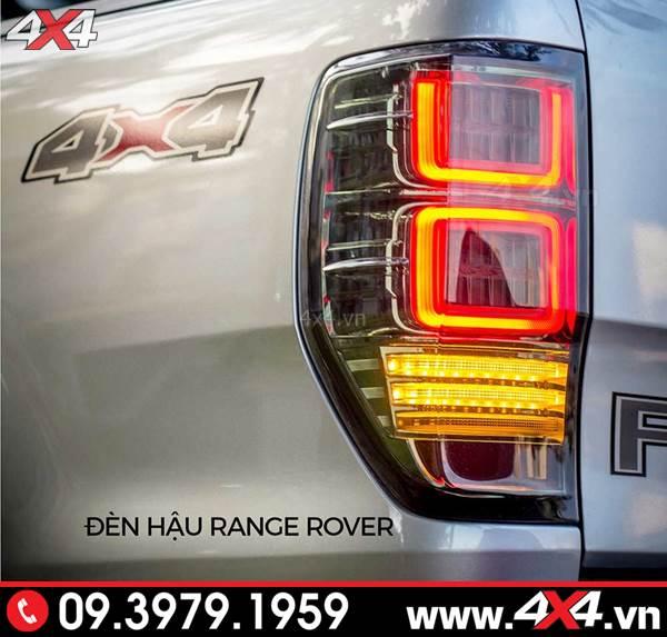 Bán tải Ford Ranger và cụm đèn hậu độ Range Rover đẹp và đẳng cấp