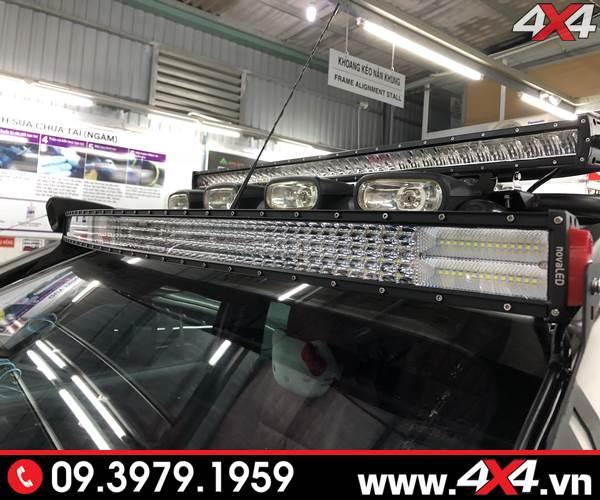 Độ đèn led bar trợ sáng dành cho Bán tải Ranger giá bao nhiêu?