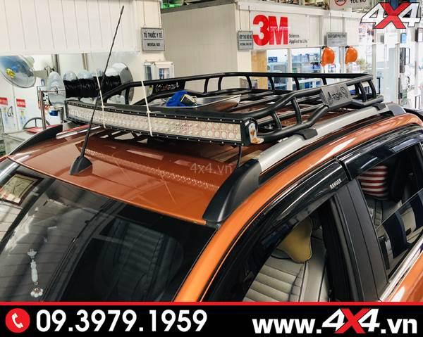 Độ đèn Ford Ranger: Đèn led bar 10D độ đẹp và tăng sáng tốt cho xe bán tải