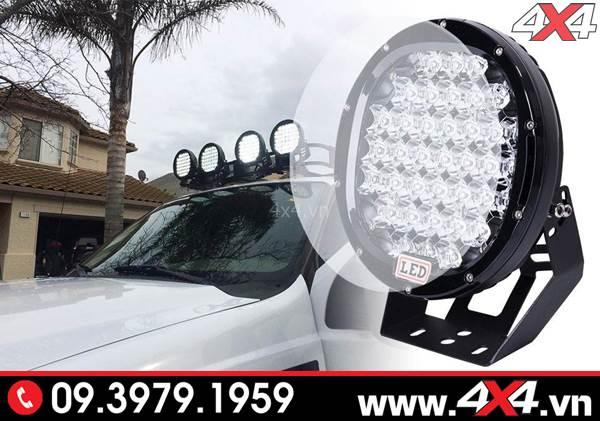 Độ đèn Ford Ranger: Đèn led tròn độ đẹp, ngầu cho xe bán tải