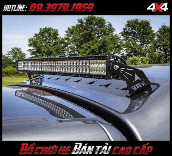 Đèn led bar ô tô đẹp và chất cho xe ô tô xe bán tải Ford Ranger