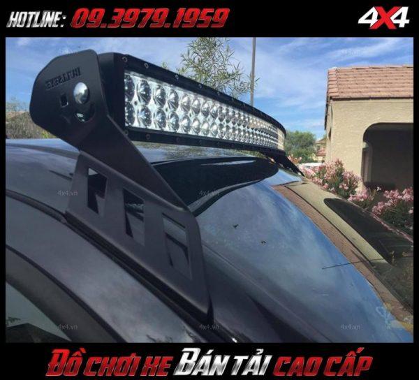 Đèn led bar 10 2 hàng led độ đẹp và đẳng cấp cho xe bán tải