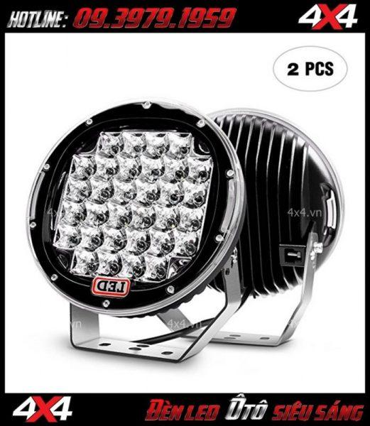 Đèn led tròn oto siêu sáng dành gắn cho xe bán tải