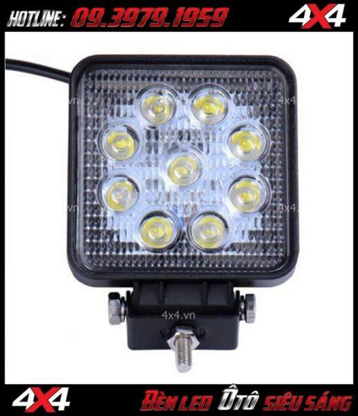 Đèn led vuông xe bán tải giá rẻ độ đẹp tại HCM