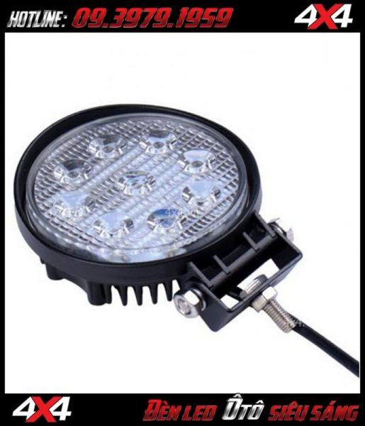 Đèn led tròn nhỏ độ đẹp cho xe ô tô xe bán tải tại HCM