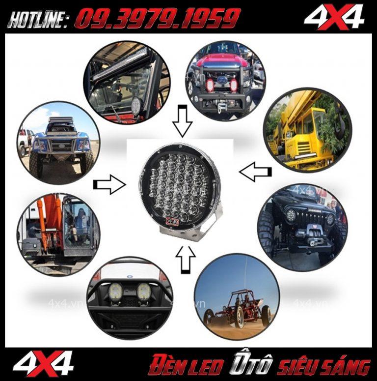 List Đèn trợ sáng cao cấp nhất dành cho xe bán tải Ranger