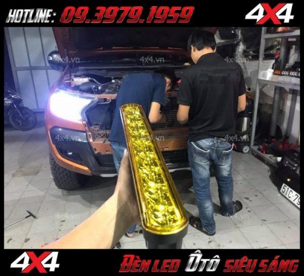 Đèn led phá sương ô tô lắp đẹp và đẳng cấp với giá rẻ tại HCM
