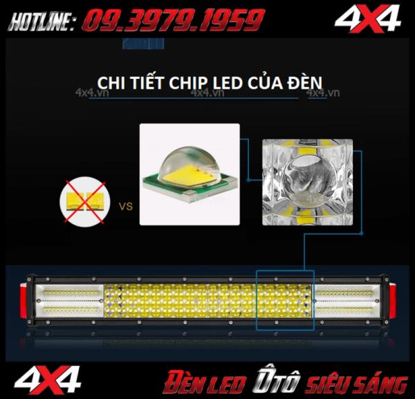 Đèn led bar 12D với công nghệ chip cree led tiên tiến