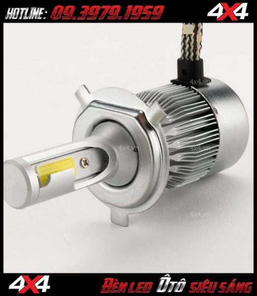 Bóng đèn h7 dùng để thay cho chóa pha của xe ô tô xe bán tải