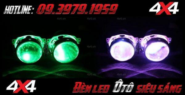 Đèn bi xenon, đèn mắt quỷ đẹp và nổi bật dành độ cho xe ô tô, xe bán tải