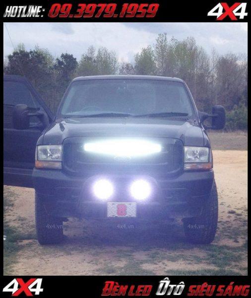 Đèn led bar chất lượng cao gắn cho ô tô xe bán tải tại HCM