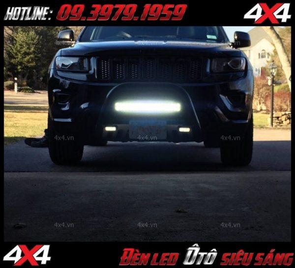 Chiếc xe bán tải với đèn led bar cực kì sáng độ đẹp mắt và chất