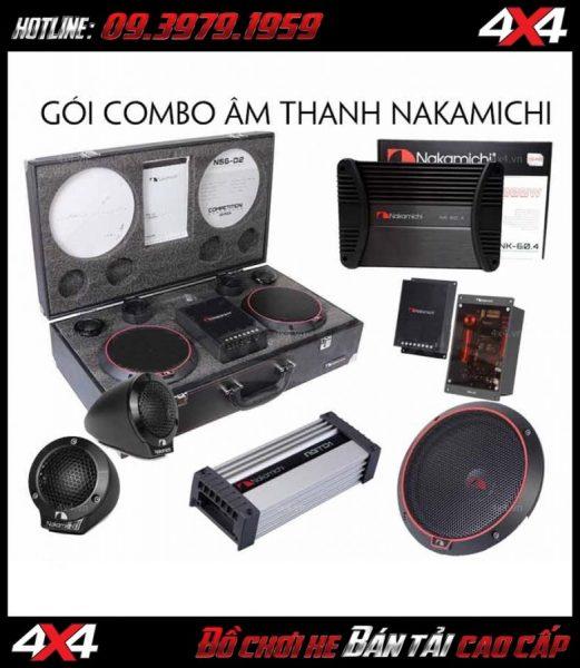 Combo các thiết bị âm thanh cao cấp NAKAMICHI Nhật Bản giá tốt nhất thị trường