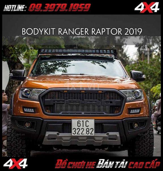 Photo Bán bộ bodykit cản trước Ranger Raptor 2019 cho xe Ford Ranger 2018