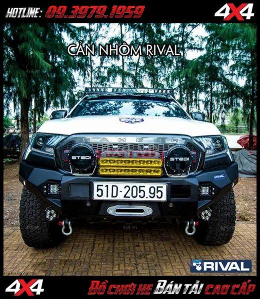 Image: Bán cản nhôm RIVAL 4×4 dành cho xe bán tải Ford Ranger 2018 ở Sài Gòn