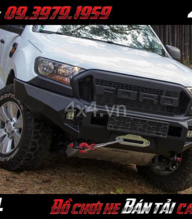 Hình ảnh Bán cản nhôm RIVAL 4×4 dành cho xe bán tải Ford Ranger 2018 2019 ở TpHCM