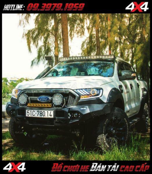 Image Bán cản nhôm RIVAL 4×4 dành cho xe bán tải Ford Ranger 2018 2019 tại Sài Gòn
