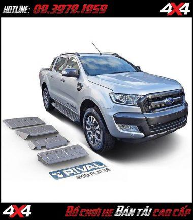 giáp gầm RIVAL cho xe bán tải Ford Ranger và Mazda BT-50