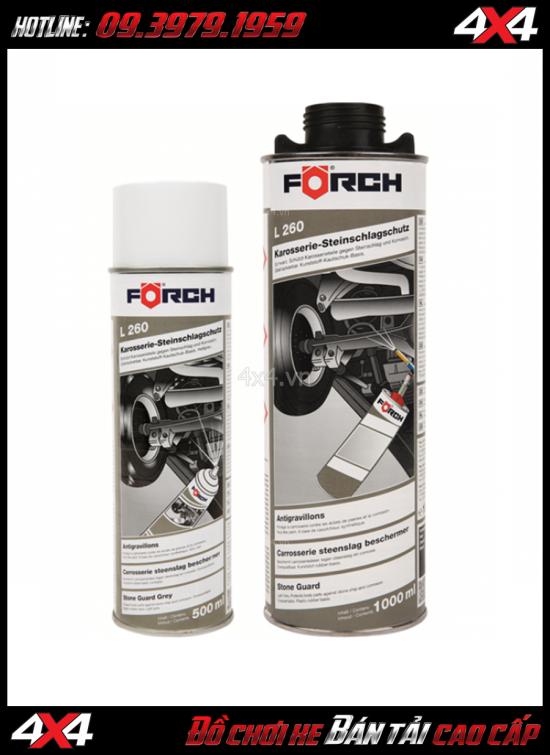 Bán sơn phủ gầm ô tô FORCH L260 chất lượng giá rẻ tại HCM
