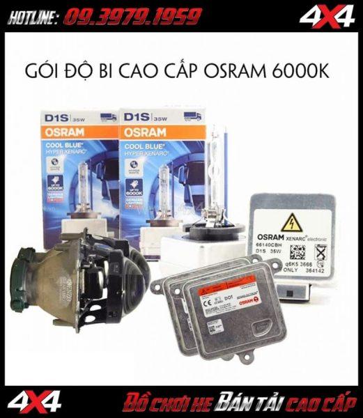 Bộ bi Kenzo + Xenon Osram CBH 6000k + Ballast Osram 35w giá rẻ tại HCM