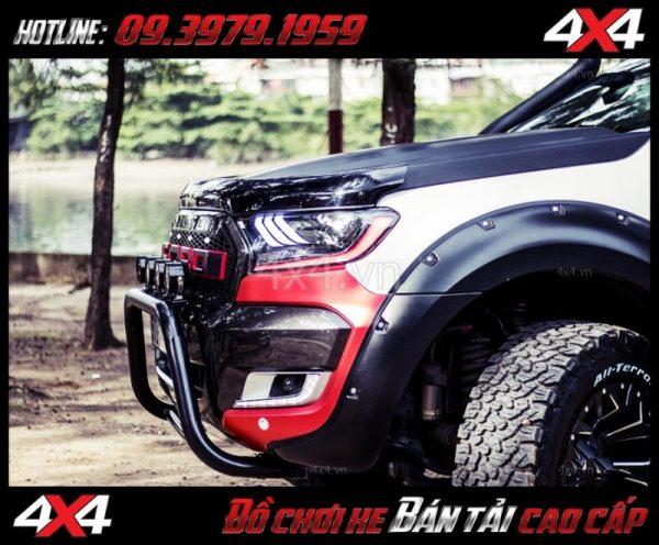 Tấm ảnh: Cản sắt chữ U cứng cáp chất lượng, giá rẻ dành cho xe Ford Ranger 2019 ở Tp.HCM