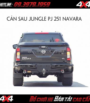 Cản sau jungle PJ-251 cho xe bán tải Nissan Navara 2018 2019 ở HCM