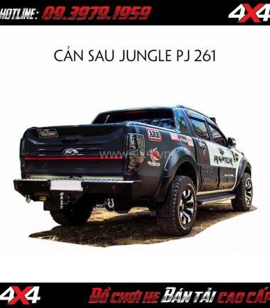 Picture: Cản sau Jungle PJ 261 cho xe bán tải Ford Ranger 2018 2019 ở Tp.HCM
