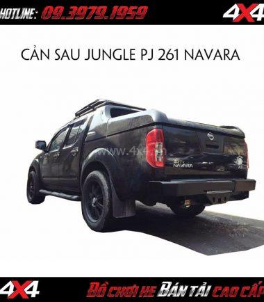 Cản sau Jungle PJ 261 gắn cho xe bán tải Nissan Navara 2018 2019