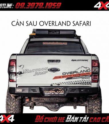 Cản sau Overland Safari gắn cho xe bán tải Ford Ranger
