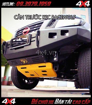 Image: Cản trước KSC Race Wolf gắn cho xe bán tải Nissan Navara tại TpHCM