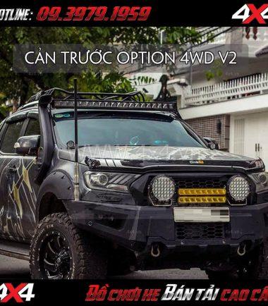Hình ảnh: Cản trước Option 4WD Thái Lan Ver2 cho xe bán tải Ford Ranger 2018 tại TpHCM