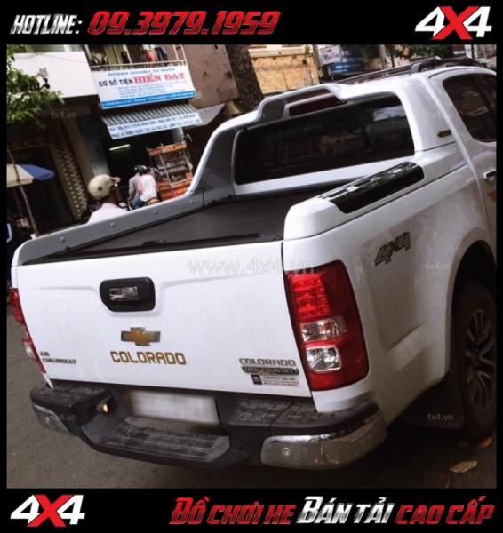 Image Chuyên bán nắp thùng cuộn Carryboy cho xe bán tải Chevrolet Colorado