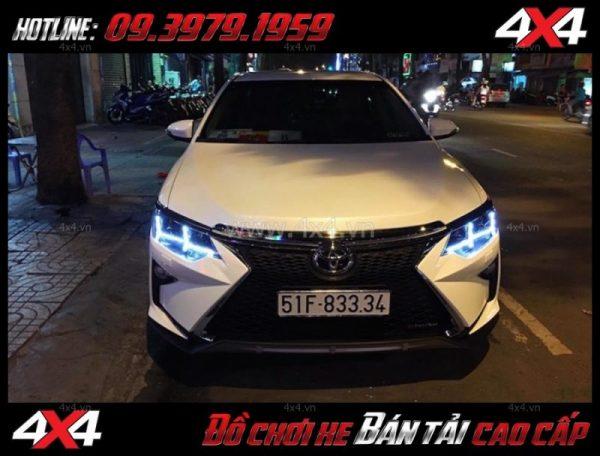 Image Cụm đèn pha dành độ cho xe ô tô Toyota Camry đời từ 2012 – 2016