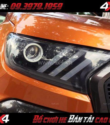 Image: Đèn độ kiểu Mustang 3D sọc thẳng dành cho Ford Ranger 2019 Wildtrak và XLT