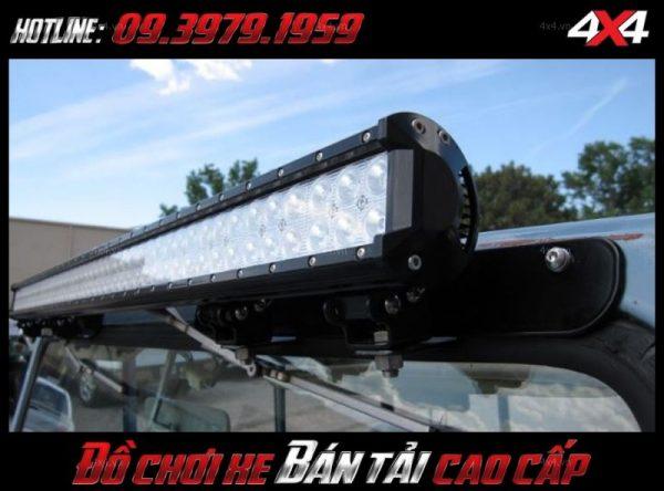 Đèn led bar ô tô, đèn led bar xe bán tải: Đèn led bar 10D đẹp, đẳng cấp và trợ sáng cực tốt