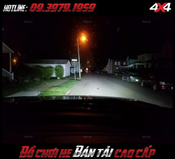Đèn led bar ô tô, đèn led bar xe bán tải 10D cho ánh sáng cực tốt độ đẹp và đẳng cấp