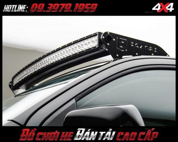 Đèn led bar ô tô, đèn led bar xe bán tải loại 10D độ đẹp và cứng cáp cho các dòng xe như Ford Ranger