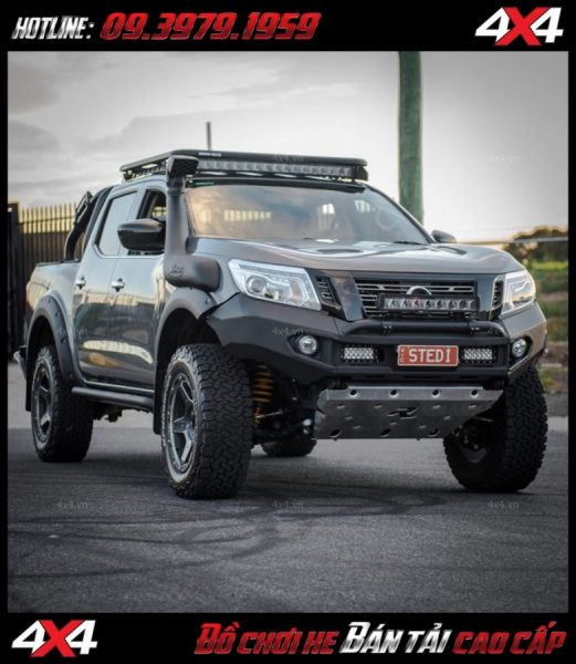 Led bar cho xe offroad: Đèn led bar stedi độ ngầu và tăng sáng cho Ford Ranger