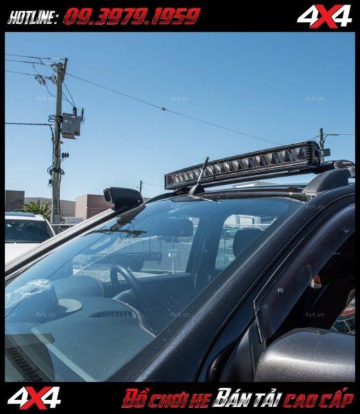 Đèn led bar cho xe offroad: Đèn led bar Stedi không chỉ tăng sáng cho Ford Ranger mà còn làm đẹp cho xe