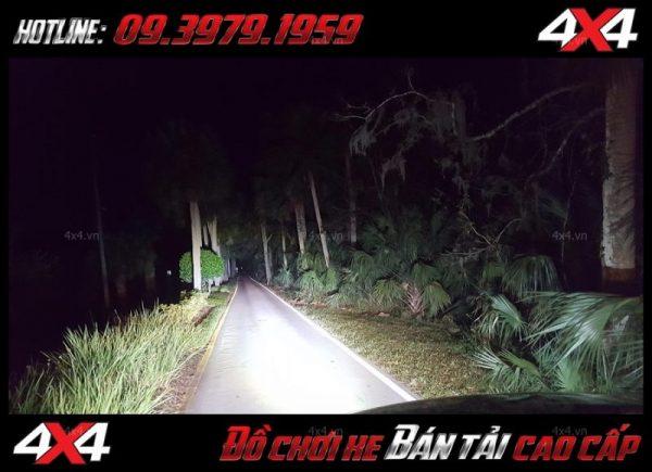 Led bar cho xe offroad: Đèn led bar 8D siêu sáng tăng sáng cho Ford Ranger cực tốt