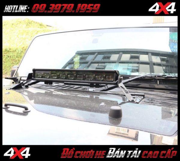 Đèn led bar cho xe offroad: Đèn led bar 6D dành tăng sáng cho Ford Ranger