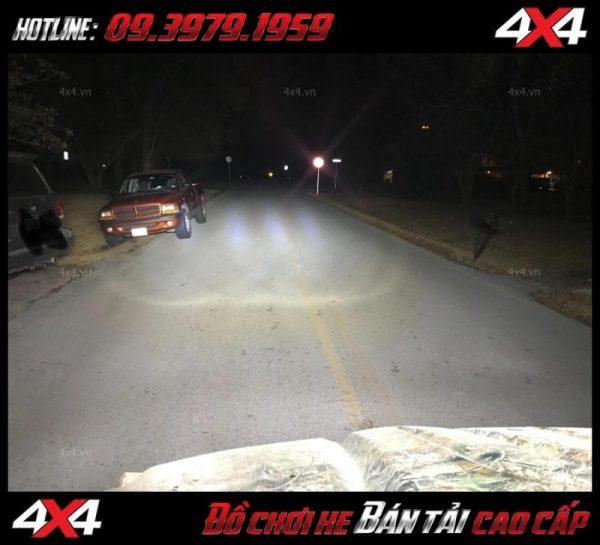 Tấm ảnh đèn led bar cho xe offroad: Đèn led bar 8D đẹp và đẳng cấp tăng sáng cho Ford Ranger cực tốt