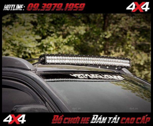 Bức ảnh đèn led bar cho xe offroad: Đèn led bar 10D trang trí đẹp và đẳng cấp tăng sáng cho Ford Ranger