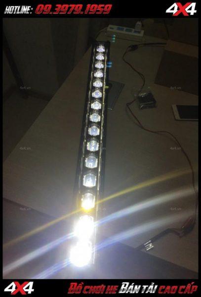 Photo led bar cho xe offroad: Đèn led bar 6D đèn trợ sáng cực tốt cho Ford Ranger